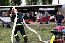 Železný hasič ve Velkém Zboží