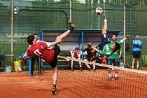 Nohejbalisté Čelákovic vyhráli další dva zápasy nejvyšší soutěže a jsou stále na prvním místě.