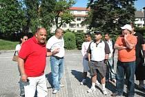 Romové demonstrovali v Lysé