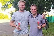 Dvojice Kyncl - Motl se stala počtvrté vítězem míčového sedmiboje v Sadské