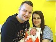 ADÉLKA ANDĚLOVÁ se narodila 2. ledna 2017 v 0.15 s výškou 45 cm a 2 290 g. Z prvorozené se radují rodiče Aleš a Markéta z Bobnic.