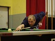 V Sokolovně v Činěvsi změřilo své síly 45 hráčů kulečníku.