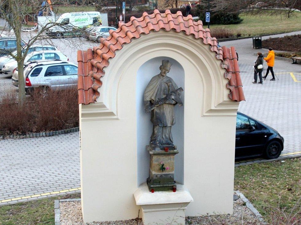 Svatý Jan v Nymburce od sochaře Jana Brokoffa  je kulturní památkou.