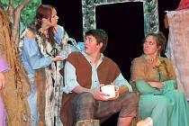 Pohádku Čarovný kámen zahrají místní ochotníci naposledy.