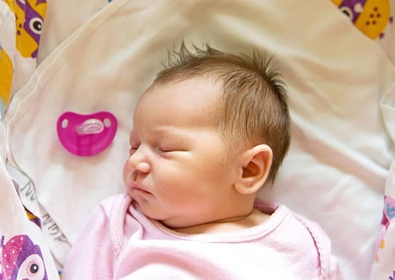 Ester Šafránková se narodila v nymburské porodnici 10. září 2021 v 15.35 hodin s váhou 3750 g a mírou 50 cm. Prvorozenou holčičku ve Vestci očekávala maminka Martina a tatínek David.