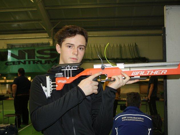 Filip Nepejchal střílel v sedmnácti na olympiádě