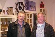 Výstava Kouzelné Poděbrady v době kapitána Korkorána vznikla díky Michalu Novákovi a Jaroslavu Chudobovi.