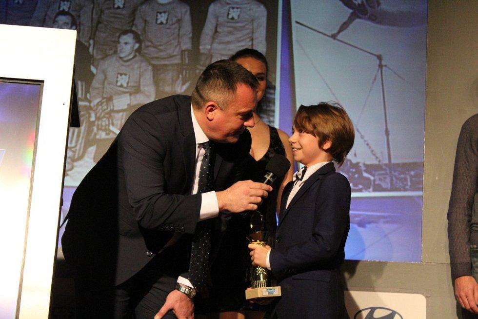 Ze slavnostního vyhlašování nejlepších sportovců Nymburska za rok 2018, které se konalo v nymburském Obecním domě.