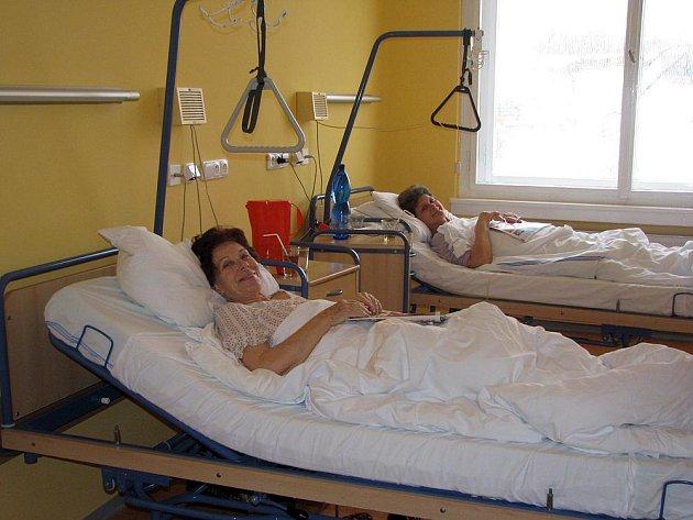 Nově zrekonstruované chirurgické oddělení v nymburské nemocnici.