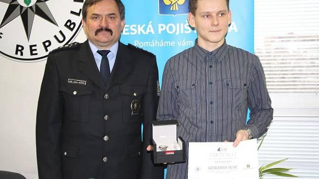 Tomáš Maux získal titul Gentleman silnic