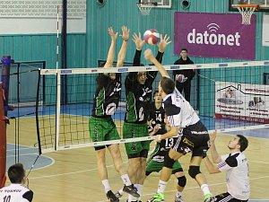 Volejbal - 1. liga - play off: Nymburk - Turnov