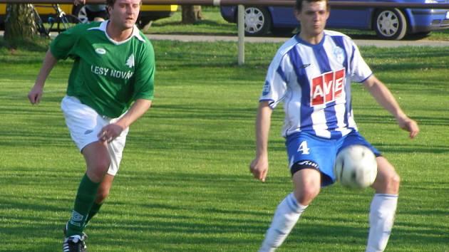 Z utkání I.A třídy Sokoleč - Čáslav B (1:2)