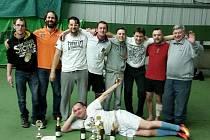 Vítězný tým florbalového turnaje v Kluku Fsc Poděbrady