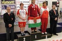 Hana Takáčová byla druhá a získala tak jedinou medaili České republiky na světovém šampionátu.