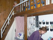 V pasáži Atrium se konal první vánoční poděbradský bazar.