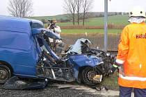 Nehoda na přejezdu mezi Dymokury a Rožďalovicemi.