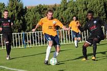 Z fotbalového utkání I.B třídy Býchory - Libice nad Cidlinou (0:2)