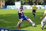 Z fotbalového utkání divize C FK Kolín - Polaban Nymburk (2:0)
