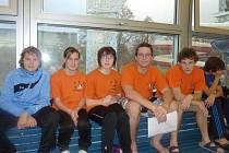 Plavci SKP Nymburk statečně bojovali v kladenském bazénu, odkud si přivezli několik cenných kovů. O historický úspěch klubu se postarali hlavně Davídek a Nováková