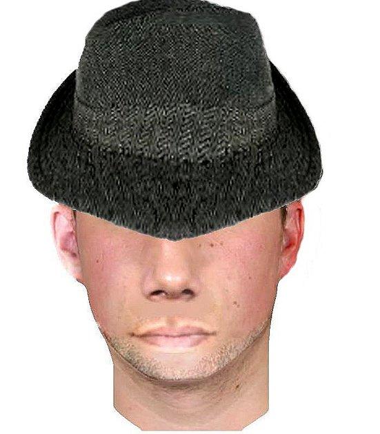 Přibližný portrét zloděje.