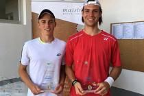 Michal Vrbenský spolu s se spoluhráčem Rodionovem z Rakouska.