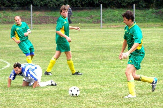 Fotbalisté Jíkve hrají v sobotu doma, ale nebude to v Jíkvi. Kvůli trestu budou hrát na hřišti v Odřepsích