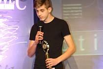 VÍTĚZ. Plavec nymburské Lokomotivy Michal Hájek se stal vítězem ankety Nejúspěšnější sportovec mezi mládežníky.