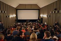 Kino v Městci při premiéře