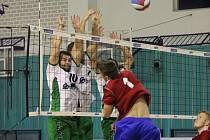 DVĚ VÍTĚZSTVÍ. Volejbalisté Nymburka poslední dva zápasy základní části první ligy zvládli na výbornou