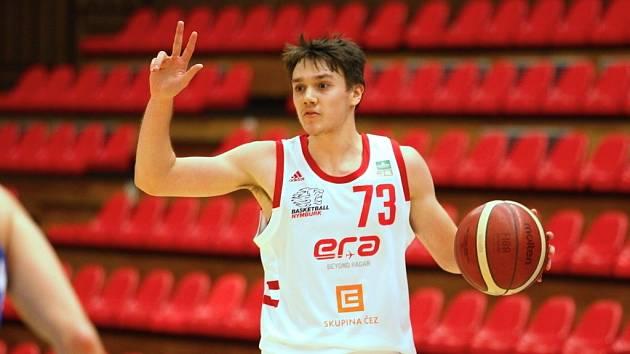 František Rylich, mladý basketbalista Nymburka