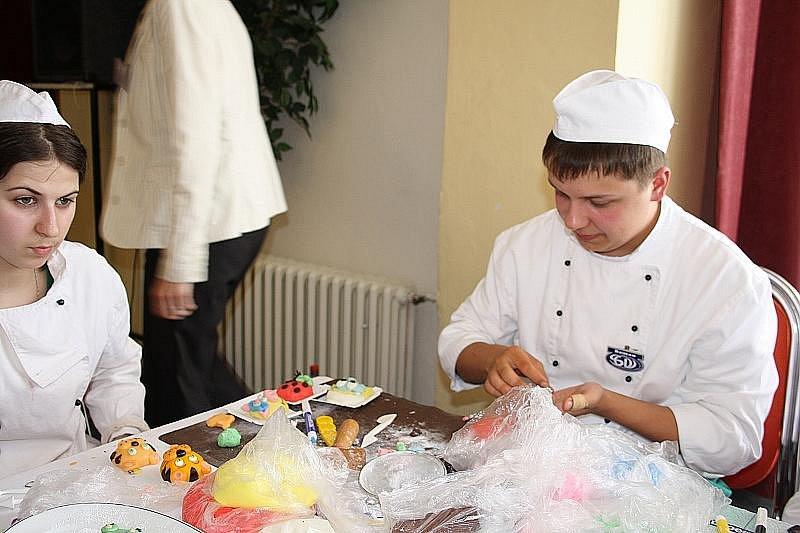 Střední odborná škola společného stravování v Poděbradech uspořádala už 5. ročník soutěže Gastro.