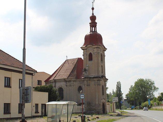 Kaple Panny Marie Bolestné v Sadské.