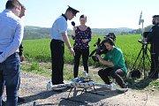 Drony, které pro dozor v CHKO Brdy začíná používat Policie ČR, jsou prvním takovým technickým prostředkem v rámci celé České republiky.
