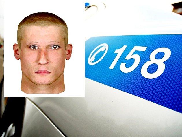 Policisté ve spolupráci se svědkem sestavili identikit zloděje.