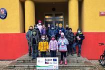 Vítězný tým. Nejúspěšnějším týmem v Soutěži základních škol za listopad 2020 se stala ZŠ TGM v Lysá nad Labem