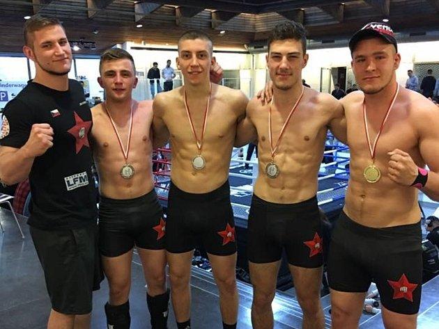 Mladí zápasníci Nymburka byli úspěšní ve Švýcarsku.