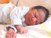 DIEGO REDAI se narodil 28. dubna 2018 ve 13.30 hodin s délkou  47 cm a váhou 3 150 g. Chlapeček byl překvapení. Bydlí v Nymburce s rodiči Miroslavem a Nikolou a brášky Miroslavem, Davidem, Samuelem a Santiagem.
