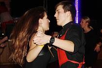 Vítězný pár č. 1 – Tomáš Kutálek a Alena Plačková.
