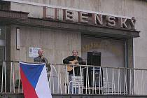 V Poděbradech si připomněli 20. výročí Sametové revoluce.