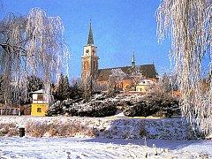 Nymburská zimní momentka.