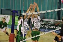 Ze druhého zápasu prvního kola play off Nymburk - České Budějovice (3:0)