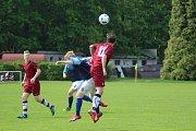 Fotbalové okresní derby krajského přeboru starších dorostenců skončilo nerozhodně.