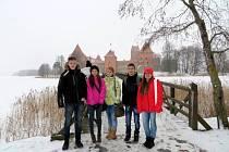 Studenti lyské obchodní akademie v Litvě