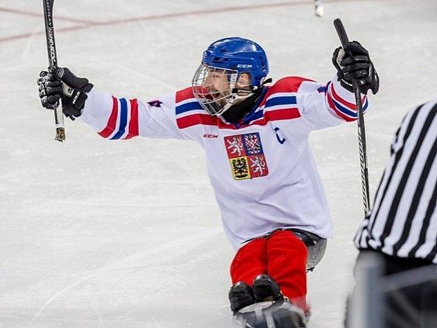 Zdeněk Šafránek, český reprezentant ve sledge hokeji.