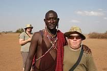 Afrika očima Jana Pánka z Poděbrad. (autor na snímku vpravo)
