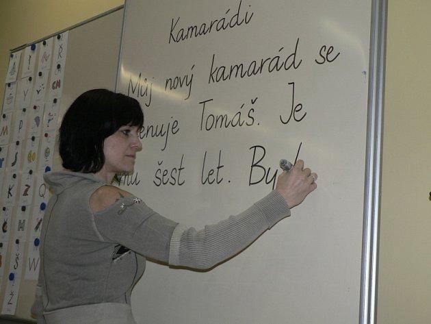 Učitelka Lenka Grösslová
