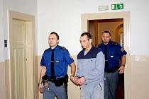 Jan Guzlej před vynesením osvobozujícího rozsudku