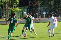 Z přípravného fotbalového utkání Polaban Nymburk - Bohemia Poděbrady (2:2)