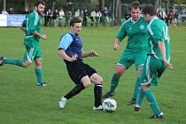 Z okresního fotbalového derby krajského přeboru Polaban Nymburk - Semice (4:1)