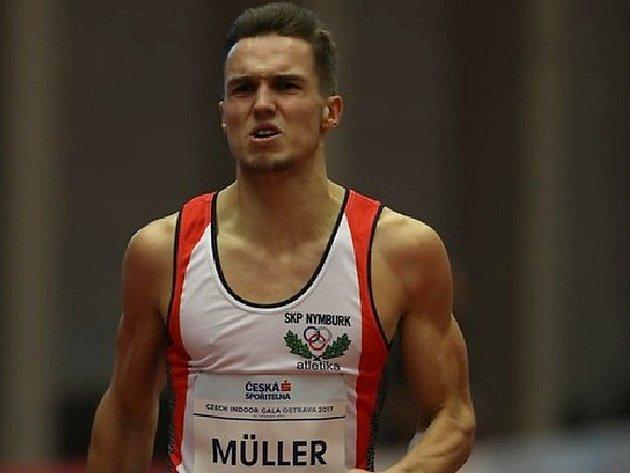 Nymburský atlet Vít Müller.